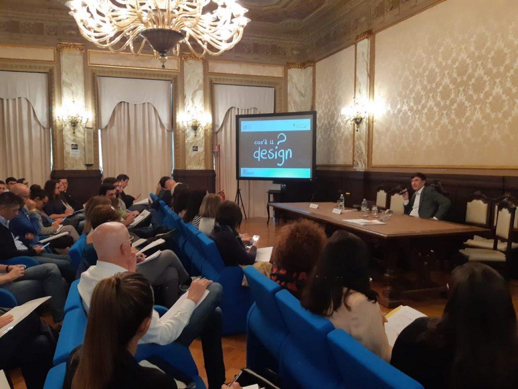 Massimo Rosati: Seminario sul Design management